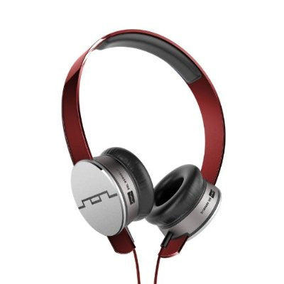 SOL Republic Tracks HD On-Ear Headphones (Red)