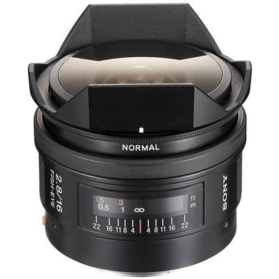 Sony SAL16F28 16mm f2.8 Fisheye Lens