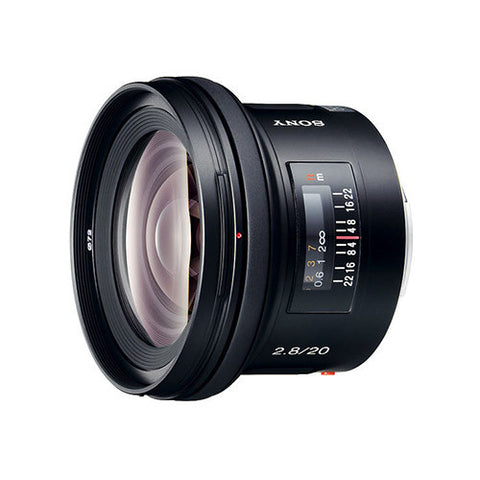 Sony SAL20F28 20mm f2.8 Wide Lens