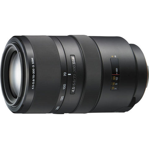 Sony SAL70300G 70-300mm f4.5-5.6 G Lens