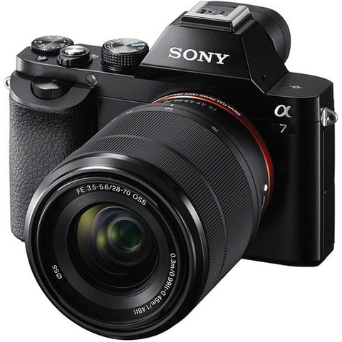 Sony Alpha A7 ILCE-7K with FE 28-70mm f3.5-5.6 OSS Lens Black