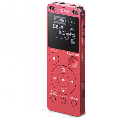 Sony Digital Voice Recorder with Built-in USB ICD-UX560F/PCE (Pink)
