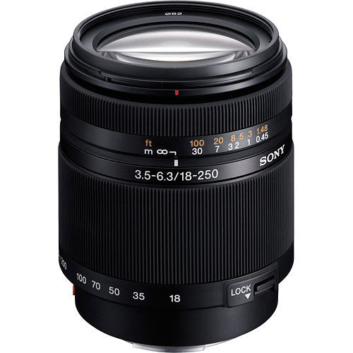 Sony SAL18250 DT 18-250mm f3.5-6.3 Lens