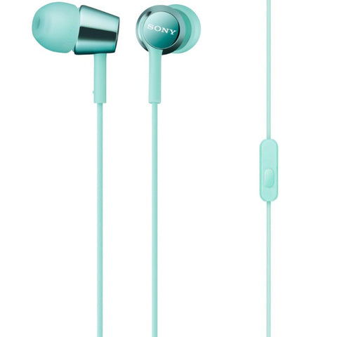 Sony Ear Headset MDREX150APLQE (Light Blue)