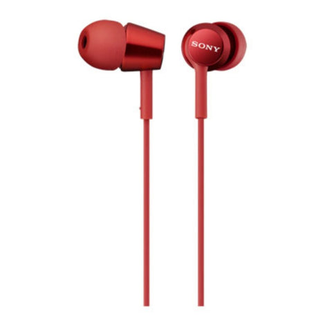 Sony Ear Headset MDREX150APRQE (Red)