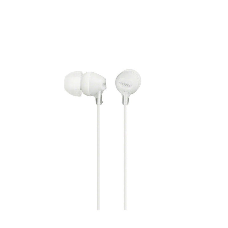 Sony EX Monitor Headphones MDREX15AP/WC (White)