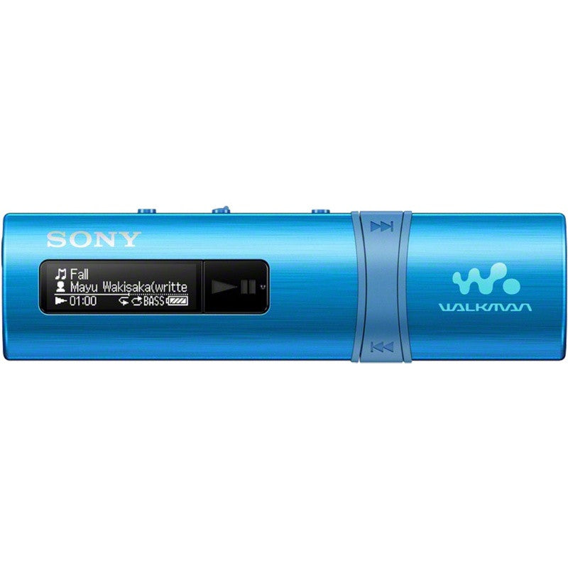 Sony Flash MP3 Player with Built-in FM Tuner 4GB NWZ-B183F (Blue)