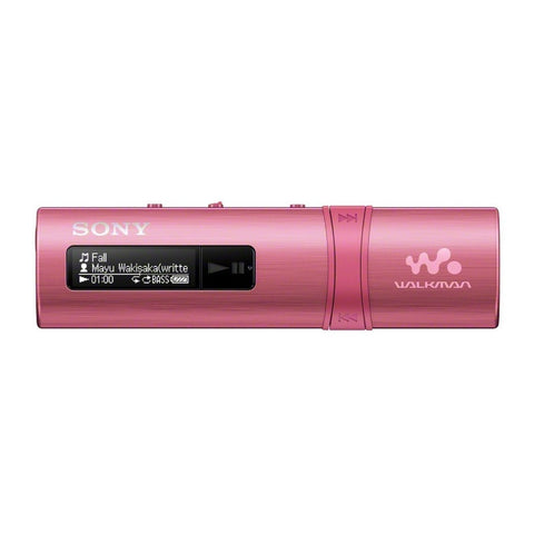 Sony Flash MP3 Player with Built-in FM Tuner 4GB NWZ-B183F (Pink)