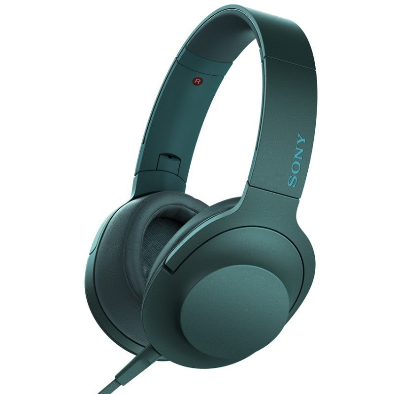 Sony MDR-100A Over-Ear Stereo Headphones (Viridian Blue)