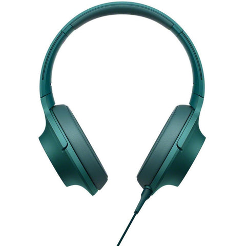 Sony H.Ear on Premium Hi-Res Stereo Headphones MDR-100A LCE (Viridian Blue)