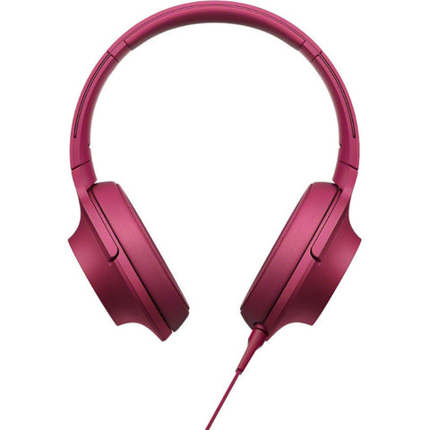 Sony H.Ear on Premium Hi-Res Stereo Headphones MDR-100A PCE (Bordeaux Pink)