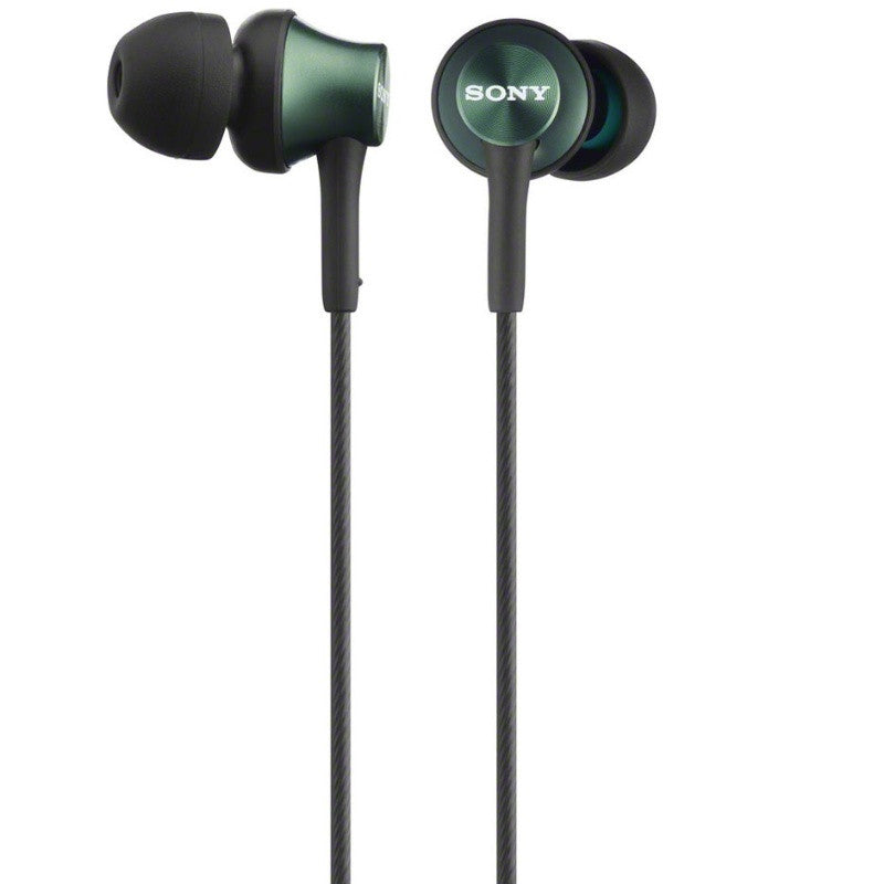 Sony In-Ear Monitor Headphones MDR-EX450-G (Metal Green)