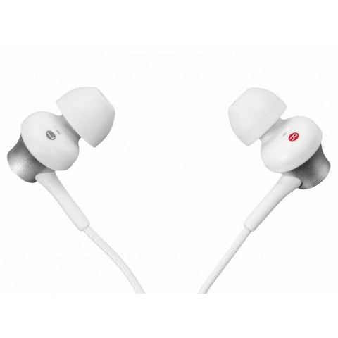 Sony In-Ear Monitor Headphones MDR-EX450-W (Metallic White)