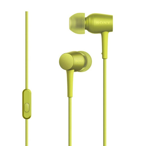 Sony MDR-EX750NA In-Earphone (Lime Yellow)