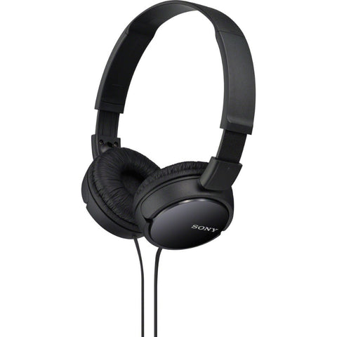Sony MDRZX110 ZX Series Extra Bass Smartphone Headset with Mic (Black)
