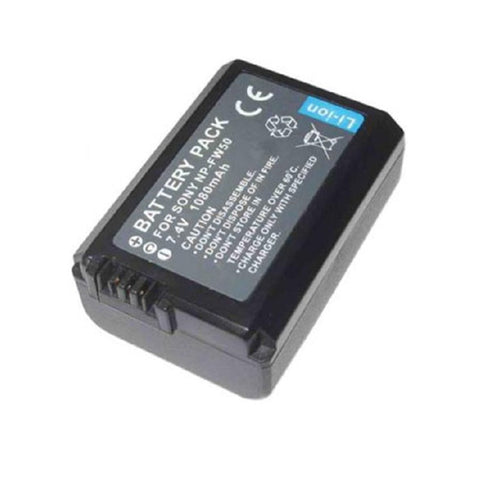 Generic NP-FW50 Battery for Sony