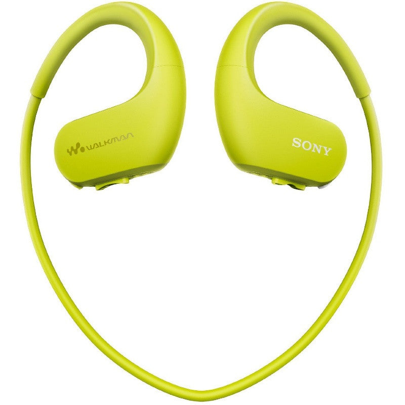 Sony NW-WS413 Waterproof All-in-One MP3 Player, 4 GB (Lime Green)