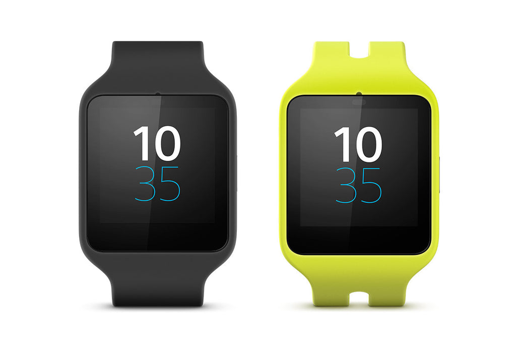 Sony SWR50 SmartWatch 3 with Silicon WristBand (Yellow)