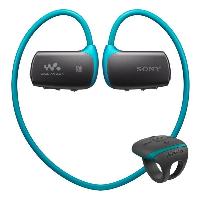 Sony Water Resistant Bluetooth Flash MP3 Player 4GB NWZ-WS6/LME (Blue)