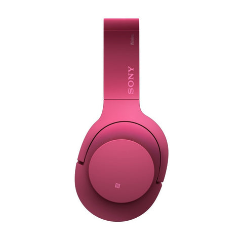 Sony Wireless Noise Canceling Stereo Headset MDR-100A/P (Bordeaux Pink)