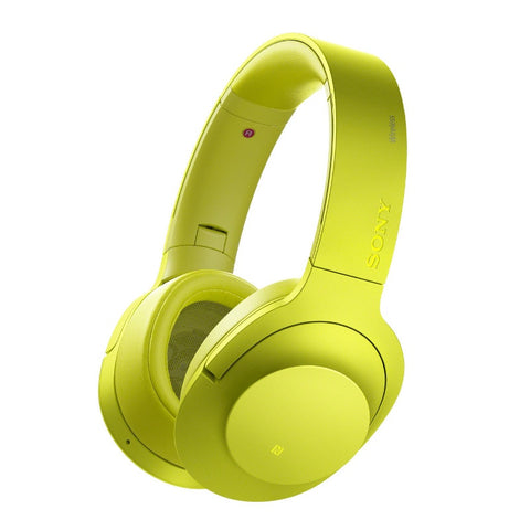 Sony Wireless Noise Canceling Stereo Headset MDR-100A/Y (Lime Yellow)