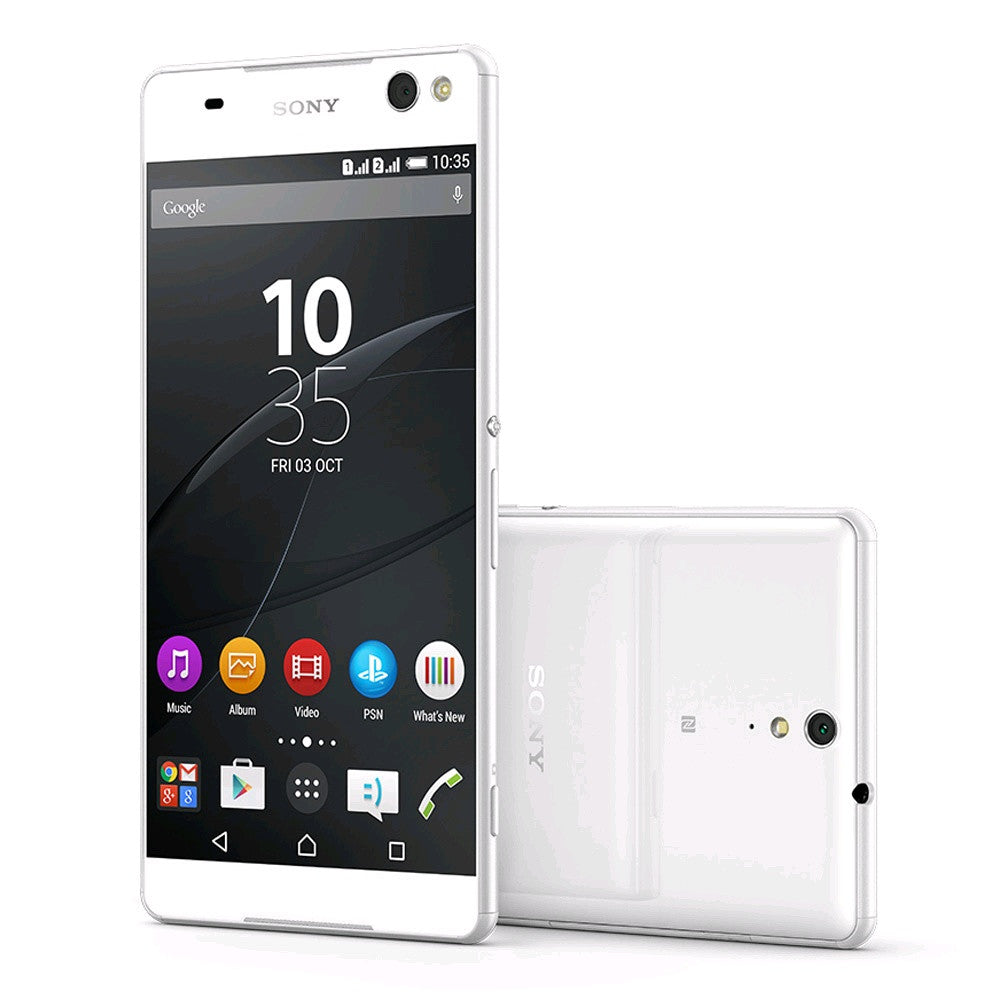 Sony Xperia C5 Ultra Dual 16GB 4G LTE White (E5563) Unlocked