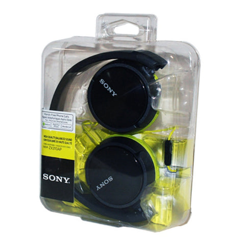Sony ZX Series MDR-ZX310AP Headband Stereo Headset (Lime Green)