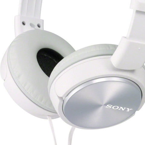 Sony ZX Series MDR-ZX310AP Headband Stereo Headset (White)