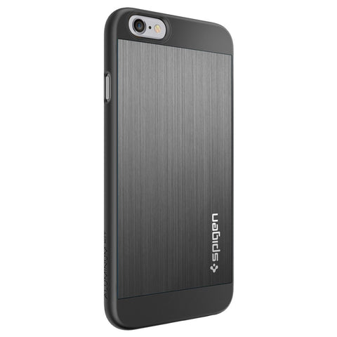 Spigen Aluminum Fit Series Case for IPhone 6 Plus Space Gray