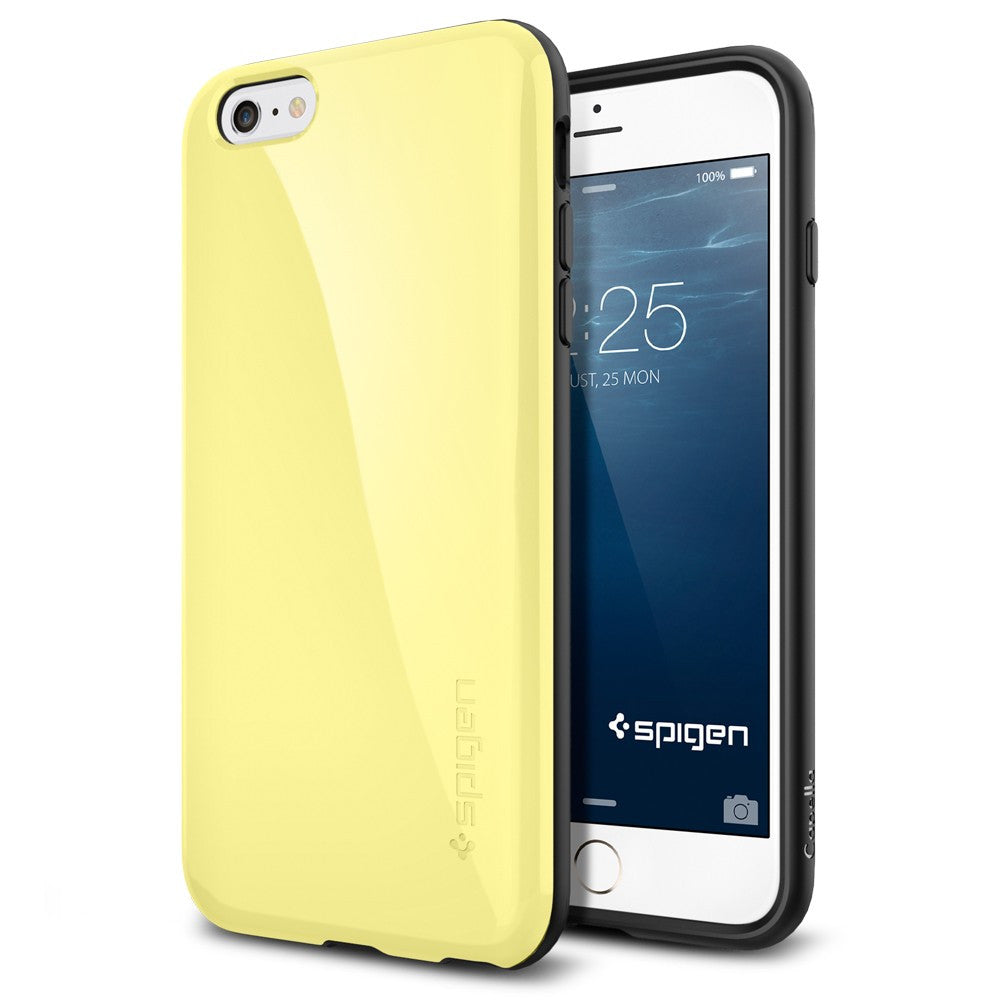 Spigen Capella Series Case for IPhone 6 Plus (5.5 inches) Lemon Yellow