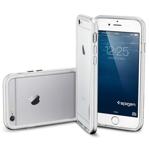 Spigen Neo Hybrid EX Series Case for IPhone 6 Satin Silver