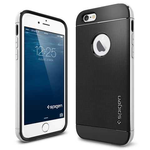 Spigen Neo Hybrid Metal Series Case for IPhone 6 Satin Silver
