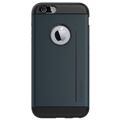 Spigen Slim Armor S Series Case for IPhone 6 (4.7 inches) Metal Slate