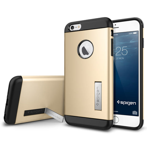 Spigen Slim Armor Series Case for IPhone 6 Plus Champagne Gold