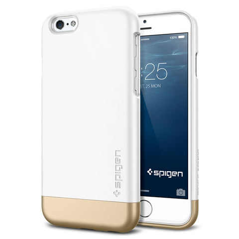 Spigen Style Armor Series Case for IPhone 6 Shimmery White