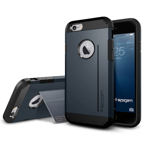 Spigen Tough Armor S Series Case for IPhone 6 (4.7 inches) Metal Slate