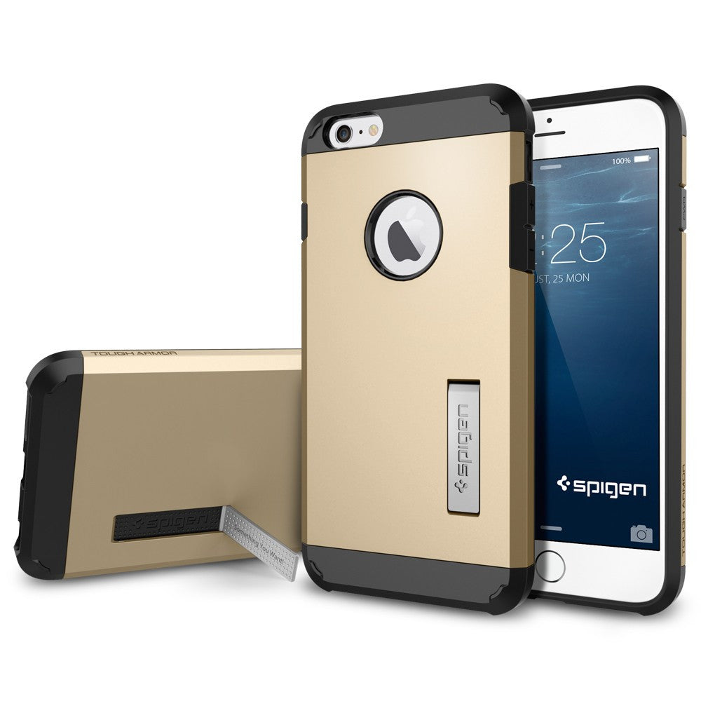 Spigen Tough Armor Series Case for IPhone 6 Plus Champagne Gold