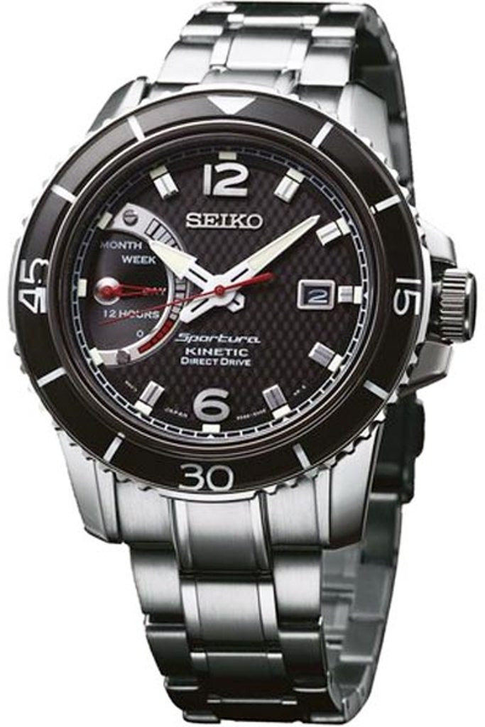 Seiko Sportura Kinetic Drive SRG019P1 Watch (New with Tags)