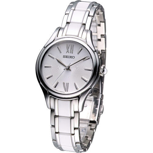 Seiko Ceramic SRZ395 Watch (New with Tags)