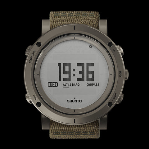 Suunto Essential Collection Outdoor Watch SS021217000 (Slate)
