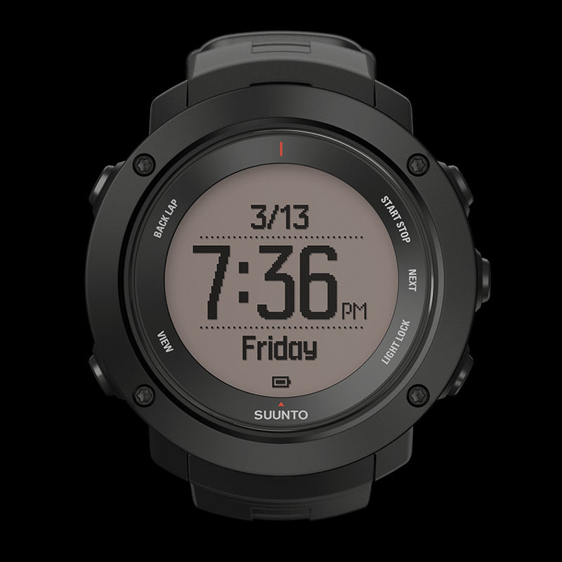 Suunto Ambit3 Vertical GPS Multisports Watch SS021965000 (Black)