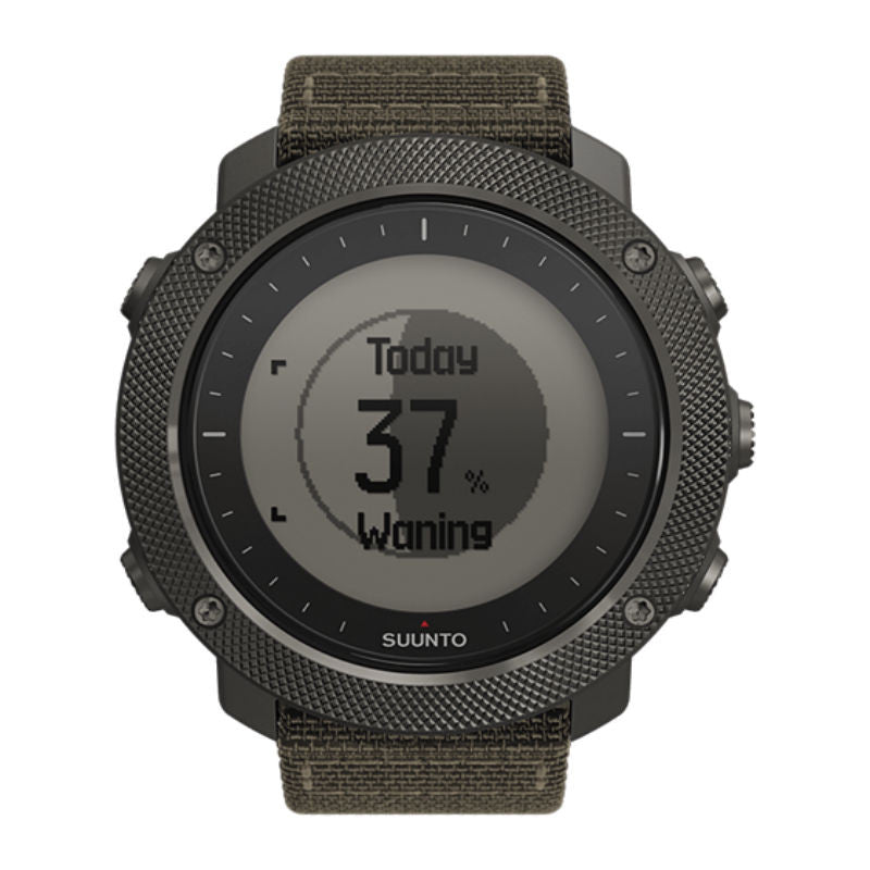 Suunto Traverse Alpha Foliage GPS Watch SS022292000 (Green)