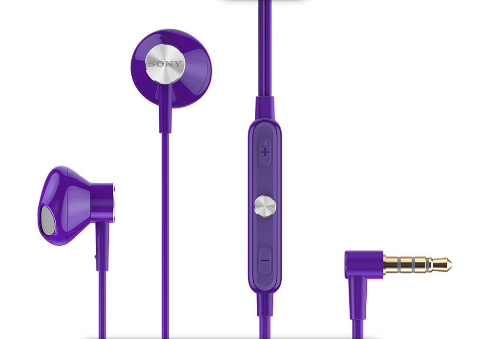 Sony STH30 IP57 Stereo Headset Purple