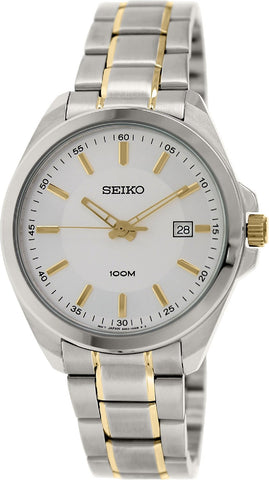 Seiko Classic Quartz SUR063 Watch (New With Tags)