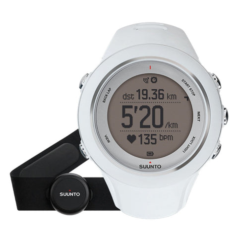 Suunto Ambit3 SS020680000 GPS Sports Watch White (HR)