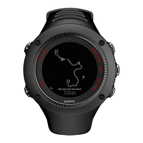 Suunto Ambit3 Run GPS Sports Watch HR SS020257000 (Black)