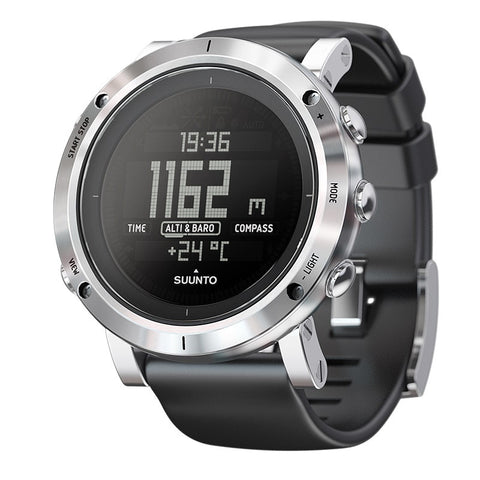 Suunto Core SS020339000 Sports Watch Brushed Steel