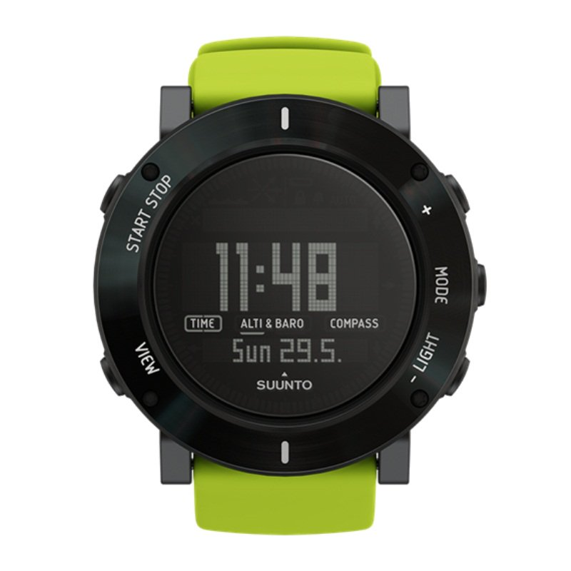 Suunto Core SS020693000 Sports Watch Lime Crush