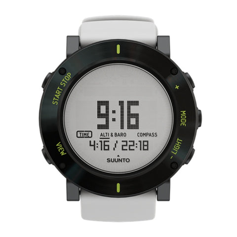 Suunto Core SS020690000 Sports Watch White Crush