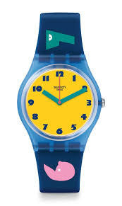 Swatch  1 2 3 Soleil GN242 Watch (New with Tags)